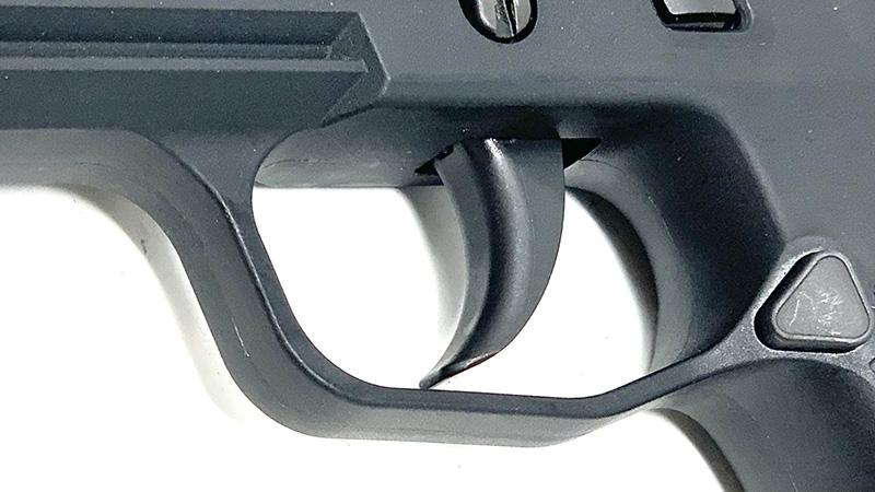 Springfield Hellcat vs Sig P365 SAS trigger